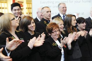 Swindon Partners applaud the official opening of their new store