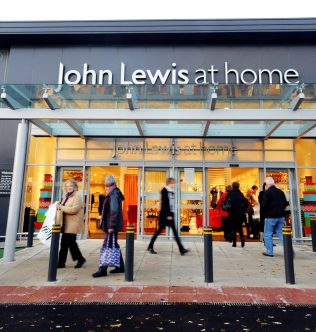 The town embraces the brand new John Lewis At Home