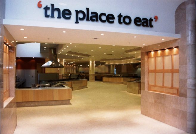 The Glasgow Place To Eat, just weeks before opening