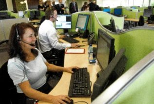 The first day in the Hamilton Customer Contact Centre