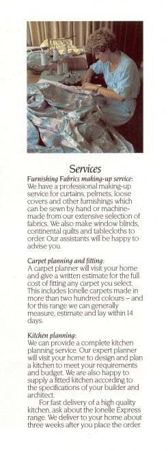 Services at Trewins | JLP Archive Collection