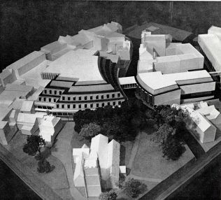 An artist's impression of Heelas, 1979