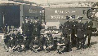 Heelas Fire Brigade service, 1942