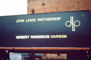A Herbert Parkinson lorry from the mid 1980's