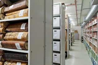 Archive strongroom | John Lewis Partnership Heritage Services