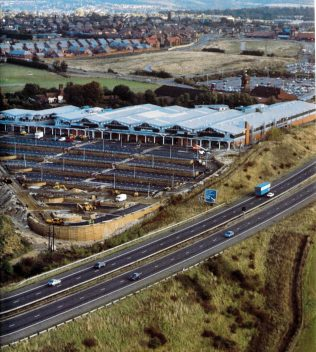 The new John Lewis High Wycombe, in its prime location next to the M40