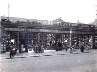 The exterior of Holdrons in the early twentieth century