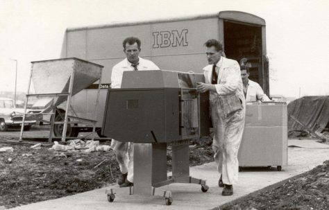 The Partnership's first computer, 1963