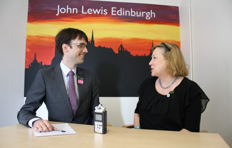 Edinburgh Working Partners' Memories of John Lewis