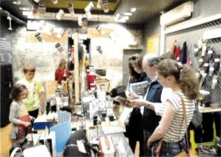 Customers sample the assortment at the John Lewis Exeter Pop-Up Shop | Gazette of the John Lewis Partnership