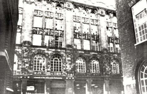 Bomb Damage at Clearings