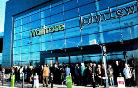 The Grand Opening of John Lewis At Home Ipswich