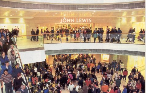 The grand opening of John Lewis Glasgow