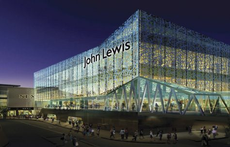The Grand opening of John Lewis Leicester