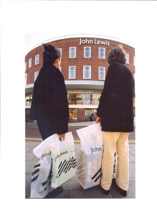 The newly branded John Lewis Norwich