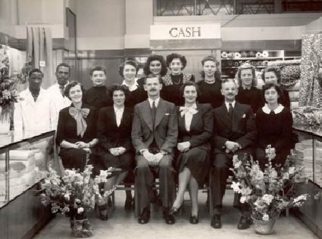 John Lewis Port Elizabeth Partners, complete with Mr Smith, front middle