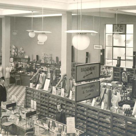 Jessops interior 1937 | John Lewis Partnership Heritage Services