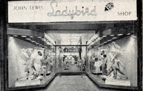 John Lewis Ladybird, Oxford Street 1962