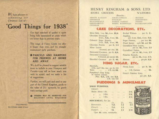 Kinghams brochure | JLP Archive Collection