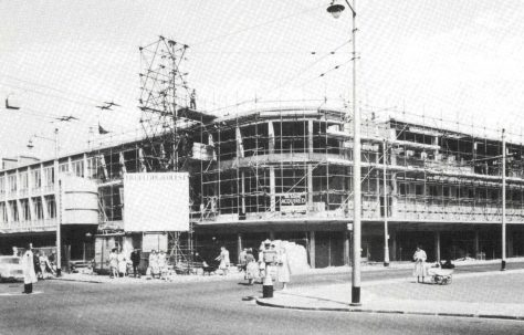 The construction and opening of Knight and Lee