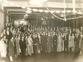 A Lance and Lance staff dance, circa 1930s