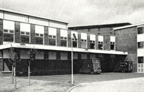 Leith Service building