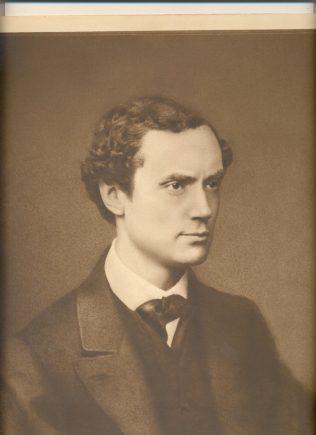 John Lewis as a young man, 1870