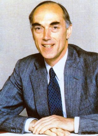 Peter Lewis, Chairman from 1972-1992