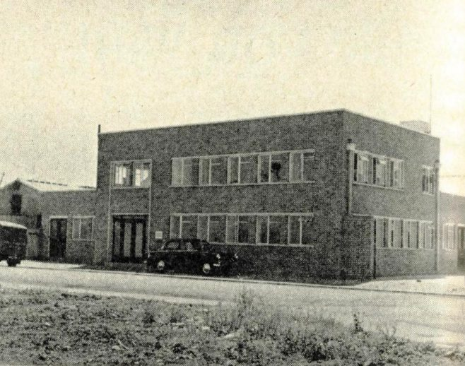 Northam Service Building in the 1960's