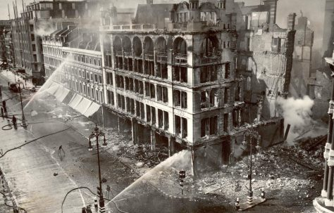 The bombing of John Lewis, September 1940
