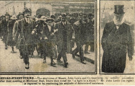 The 1920 strike at John Lewis