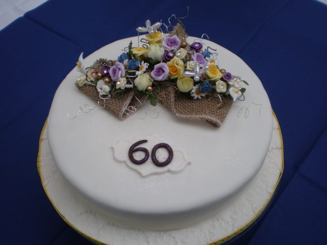 The Celebration Cake made by Mei Puddifoot. | From the private collection of Ian Hudson.