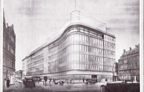 The rebuilding of Peter Jones, 1932-1936