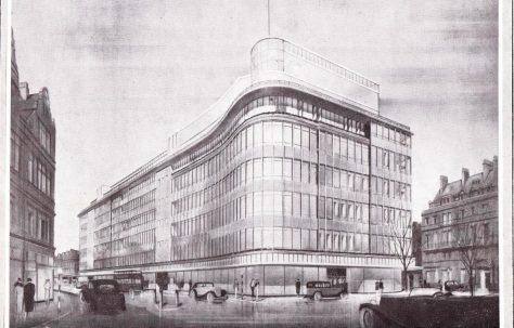 The rebuilding of Peter Jones, 1932-1936