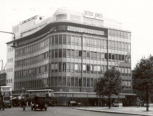 The Peter Jones exterior, 1937