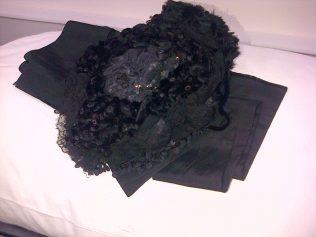 Queen Victoria's black hat
