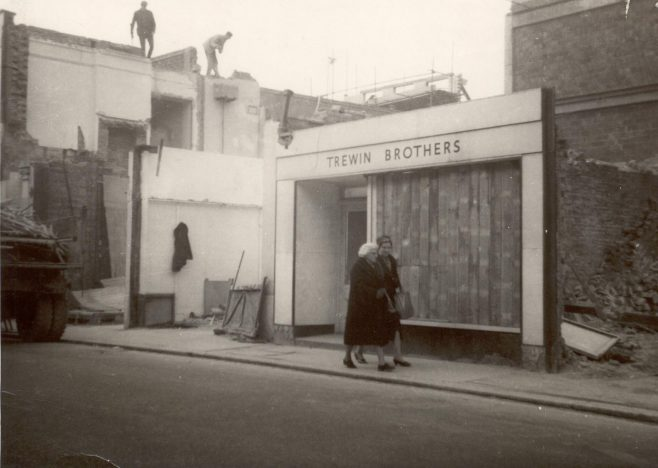 Queens Road rebuilding 1961-3   JLP Archive Collection