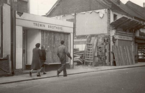 Queens Road rebuilding, 1961-3