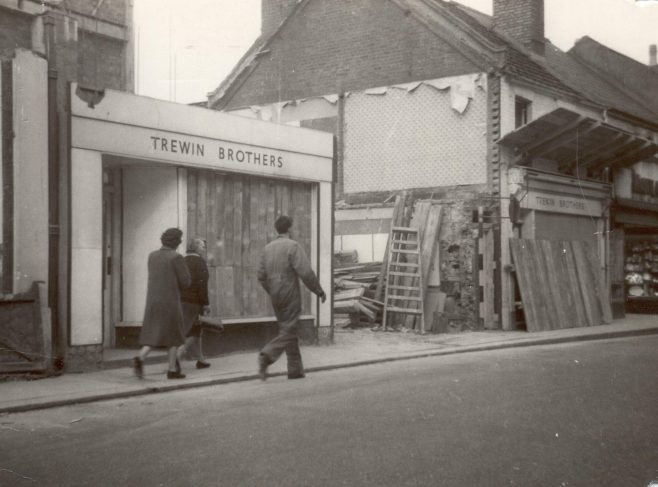 Queens Road rebuilding, 1961-3   JLP Archive Collection