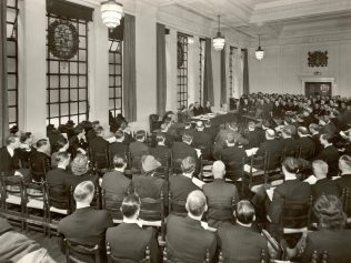 A Central Council meeting in 1948