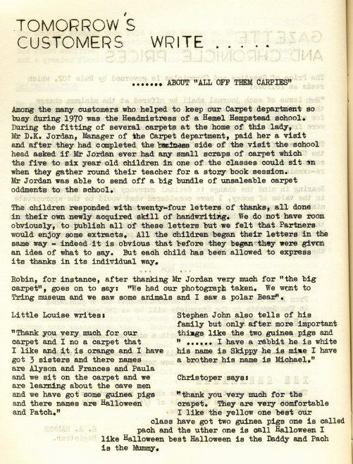 Chronicle. Vol.16. No.1. 6 February 1971