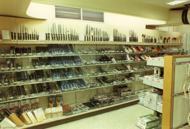 Kitchenware department, Queens Road. | JLP Archive Collection