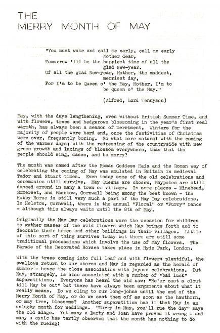 Chronicle. Vol.26. No.14. 7 May 1977
