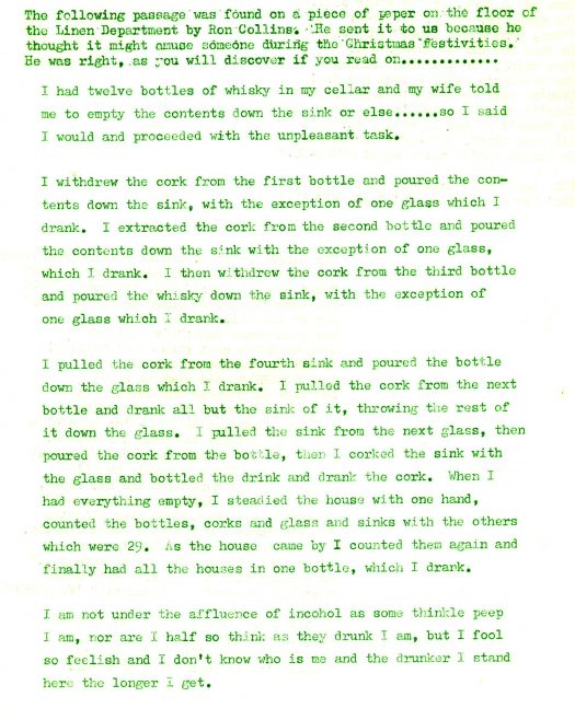 Christmas Chronicle. Vol.26. No.47. 24 December 1977