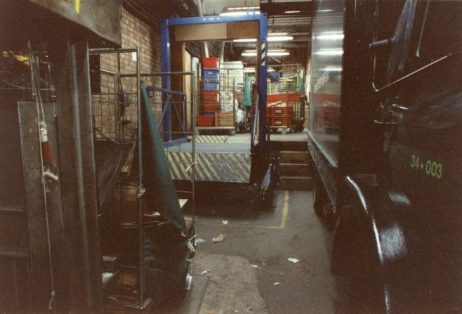 Loading bay, Queens Road. | JLP Archive Collection