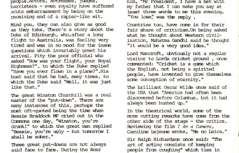 Chronicle. Vol.32. No.4. 6 March 1982