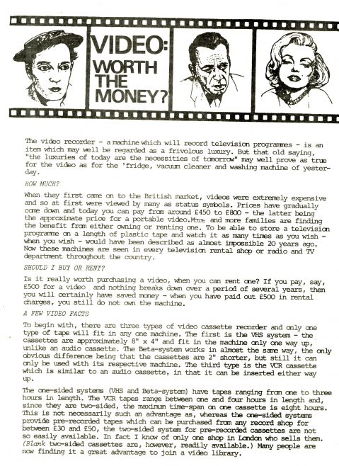 Chronicle. Vol.31. No.20. 27 June 1981