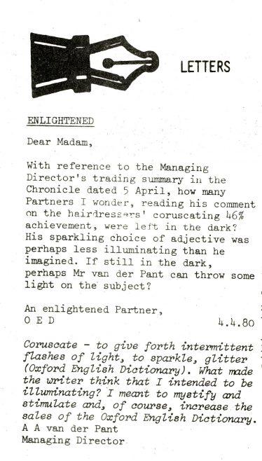 Chronicle. Vol.29. No.14. 10 May 1980