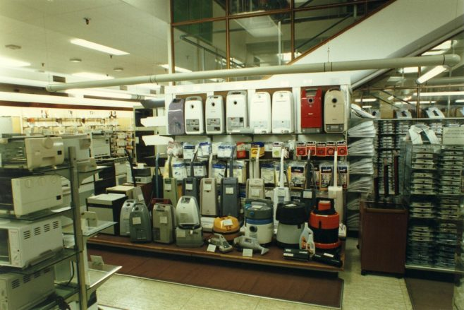 Electrical department.
