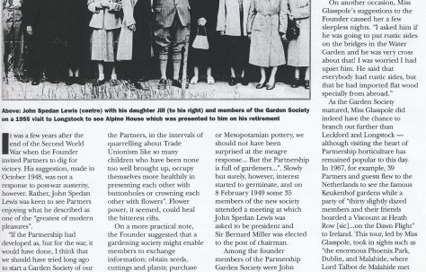 50 Golden Years of the Trewins Garden Society. 1959 -1999